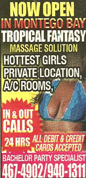 Tropical Fantasy Massage Montego Bay